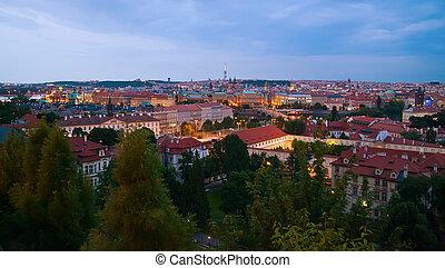 Prague In Twilight