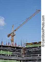 buildings under construction and cr - buildings