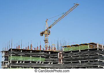 buildings under construction and cr - buildings under...