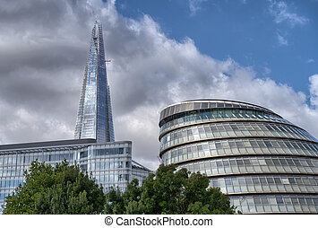 London City Hall, headquarters for the Lord Mayor and City...