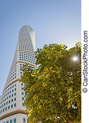 Turning Torso 15 - a view of the turning torso twisted tower...