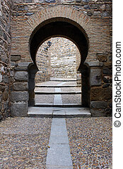 Old door, Toledo, Spain