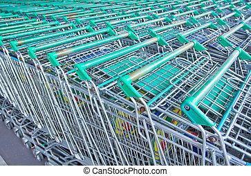 Plano de fondo, compras, departamento, Tienda