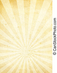 radiate crinkled cream - Cream and yellow radiating...