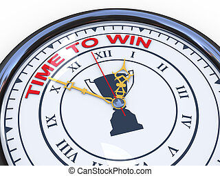 3d clock - time to win