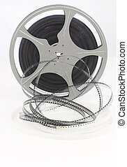 movie film reel unraveling