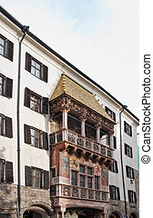 Golden Roof in Innsbruck - Famouse Golden Roof in Innsbruch,...