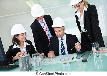 Meeting of architects or structural engineers - Meeting of...