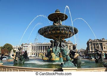 Fontaine des Mers Paris - Fontaine des Mers, Maritime...