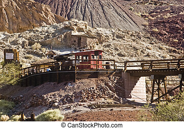 Calico Train Station - This is a picture of the train...