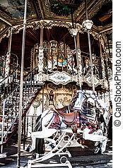 Merry go round in Paris