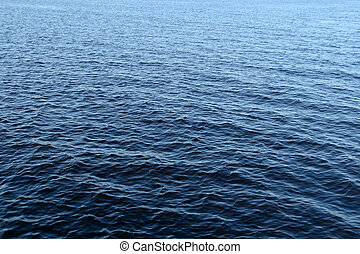 Blue rippled water texture.