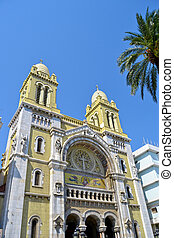 Christian Church in Tunis, capital of Tunisia