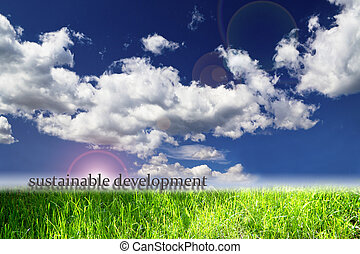 perfect landscape representing the concept of ecology