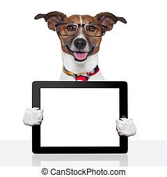 business dog tablet pc ebook touch pad - business dog tablet...