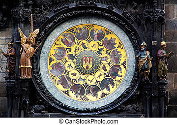 Prague Astronomical Clock - the Prague Astronomical Clock,...
