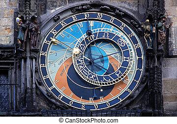Prague Astronomical Clock - the Prague Astronomical Clock,...