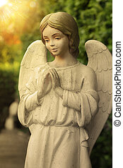 Angel - Beautiful state of an angel praying