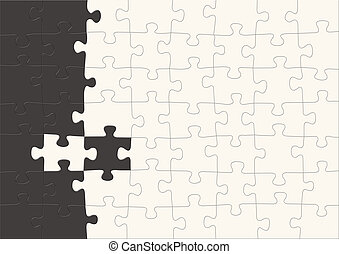 Background - 3d puzzles - 3d puzzles of black and white...