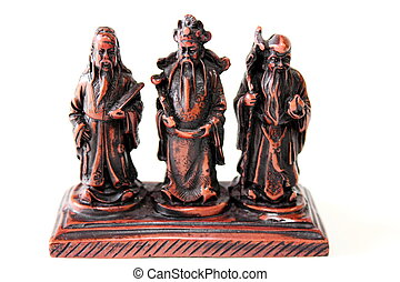 Statue sacred beliefs of the Chinese people
