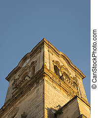 Arcos Religous Architecture - A church tower in the town of...