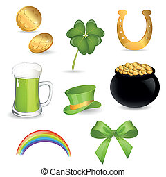 Saint Patrick's Day - Vector Illustration of Saint Patrick's...