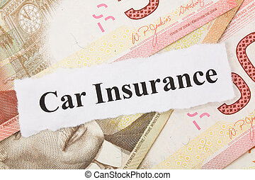 Car Insurance - Headline of car Insurance for background