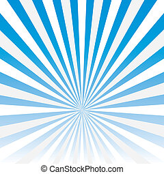 Vector abstract background of blue star burst .vector
