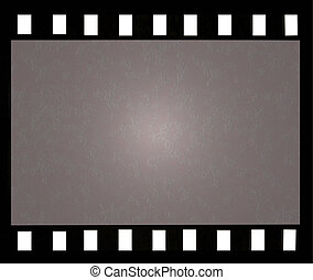Vintage film frame - Old vintage filmstrip background with...