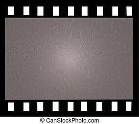 Vintage film frame - Old vintage filmstrip background with...