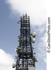 steel telecommunication tower