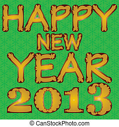 Happy new year 2013eps10