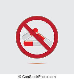 Anti drug medical background.Vector