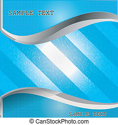 Sample Text Card whit texture