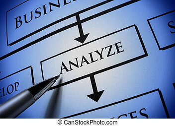 Blue Analyze Paperwork