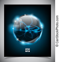 Glass frame Vector illustration - Glass frame Vector...