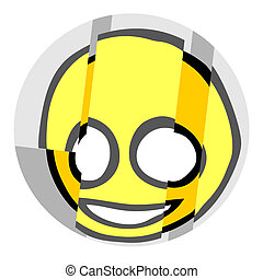 Happy face - Creative design of happy face