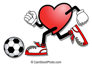 Heart sport - Creative design of heart sport