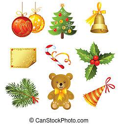 icon  - vector Christmas icon