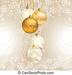 Christmas backdrop - light Christmas backdrop with five...