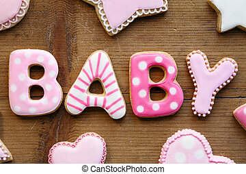 Baby shower cookies - Cookies for a baby shower