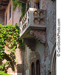 Juliets Balcony - The balcony of Juliets house, made famous...