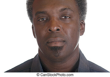 black male headshot - head shot of african american man
