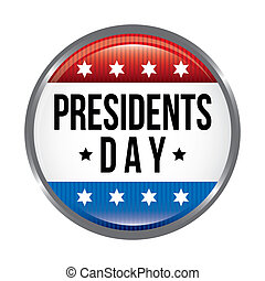 presidents day background, united states vector illustration...