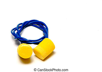 Ear Plugs - A set of ear plugs - personal protective...