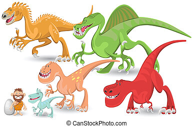 Carnivorous Dinosaurs Collection Se