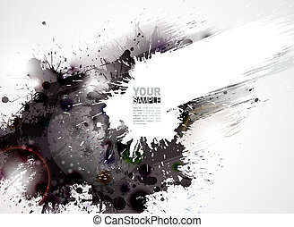 Abstract Background - Abstract grunge artistic Background...