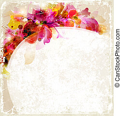 Abstract background - Vintage Abstract background with...