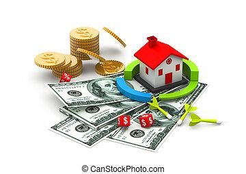 Home sale concept