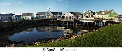 fishing village - spinnakers landing fishing village...